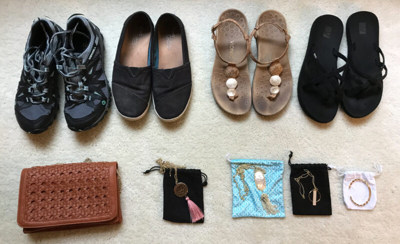 d4089bd01c30 I tried my best to put together a travel capsule wardrobe that offered many  options so I wouldn t get bored and that offered many options to mix and  match.