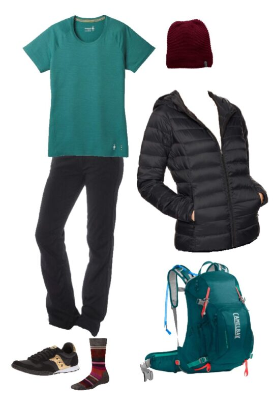 493284c3b3be Outfit for hiking at Masada or in the desert – LAYERS! What to wear ...